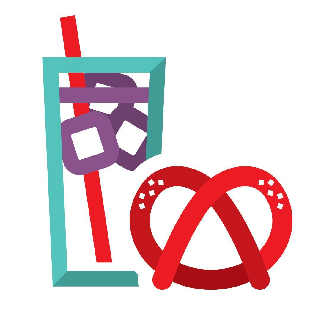 post donation snack icon - symbol