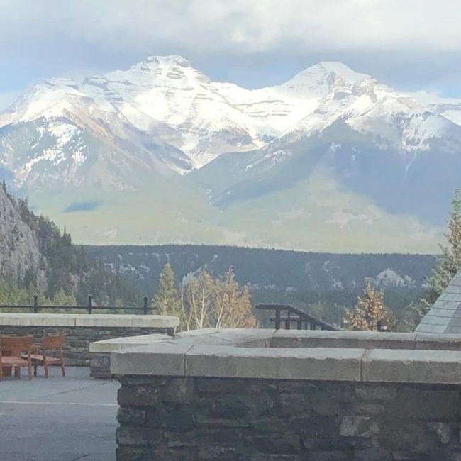 The Rocky Mountains in Banff